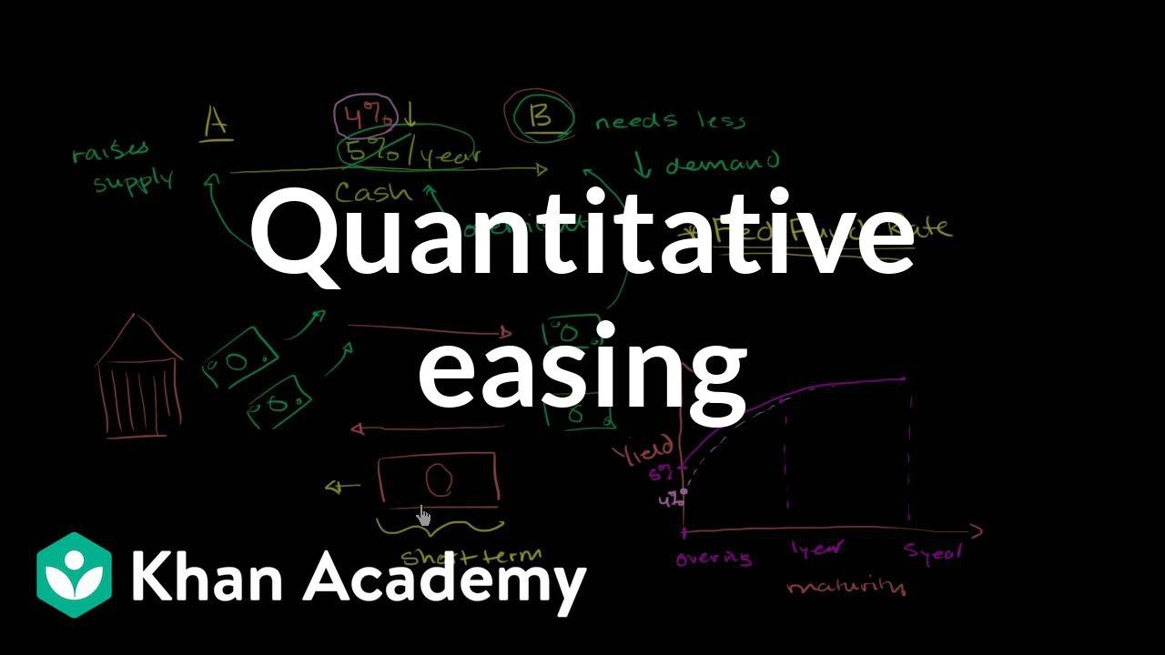 Quantitative easing | Money, banking and central banks | Finance & Capital Markets | Khan ...