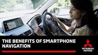 Mitsubishi Smartphone Navigation Benefits - with Konnie Huq