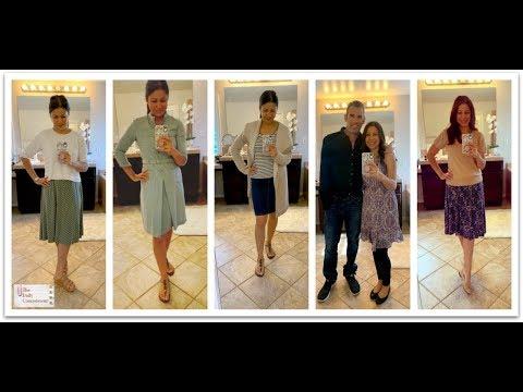 Weekly Outfits From My Ten-Item Capsule Wardrobe | Ladylike Dressing | Jennifer L. Scott