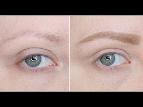 Drugstore Eyebrow Routine For Sparse Brows Youtube