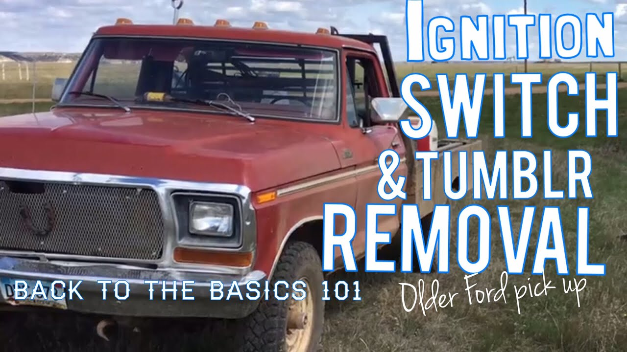 Ford Ignition Tumblr Removal 1968 1976 Youtube