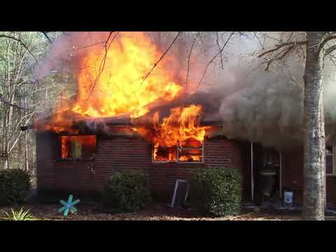 Fire on CR 400