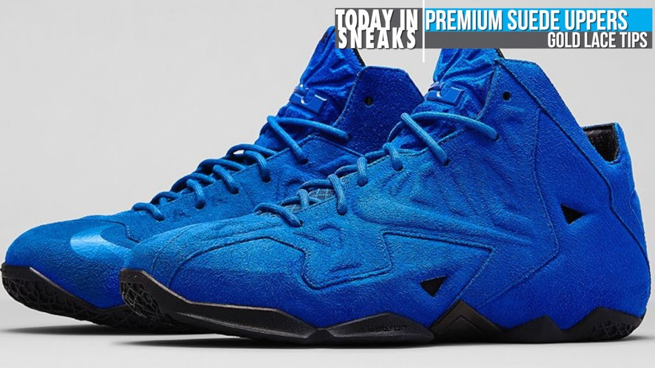 50928ed4fb9 LeBron 11 EXT Blue Suede