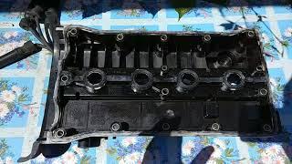 Замена прокладки клапанной крышки Chevrolet Rezzo