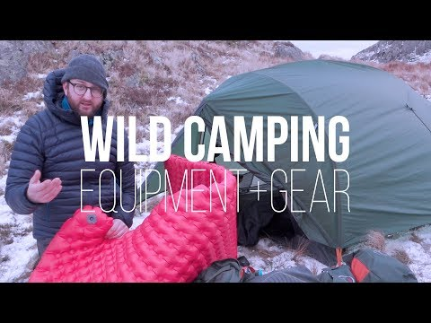 Used + Recommended WILD CAMPING Equipment + Gear (ft. Alpkit, Osprey, Sea To Summit)