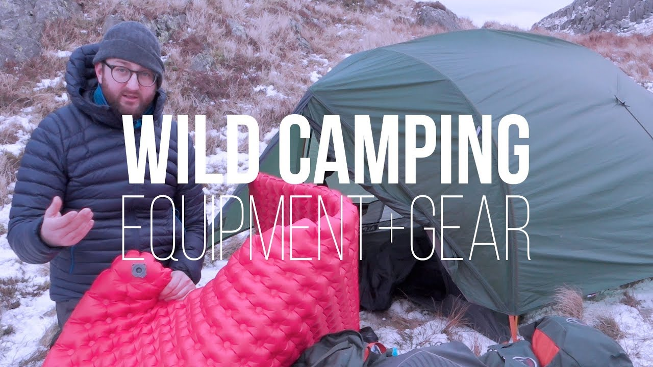 purchase cheap 3c460 3da7b Used + Recommended WILD CAMPING Equipment + Gear (ft. Alpkit, Osprey, sea  to summit)