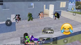 Tricking Innocent Noobs Players 🤣😅   PUBG MOBILE FUNNY MOMENTS