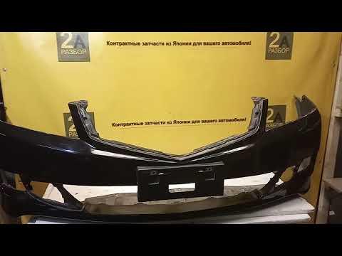 Обзор переднего бампера рестайлинг Honda Accord 7 поколения