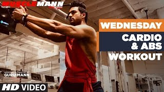 Wednesday/Saturday - Cardio & Abs | MUSCLEMANN - Super Intense Cutting program by Guru Man
