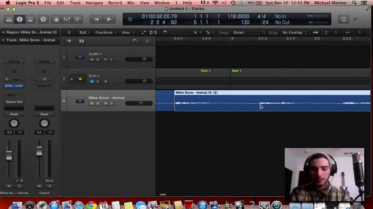 how to make dance music in logic pro x