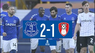 EVERTON 2-1 ROTHERHAM | FA CUP HIGHLIGHTS