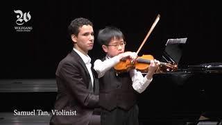 Samuel Tan plays Paganini - Caprice No. 24