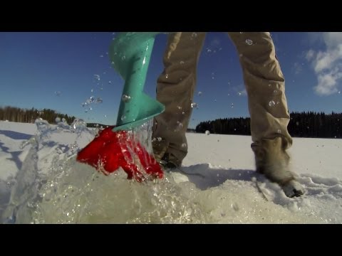 GoPro Ice Fishing In Finland