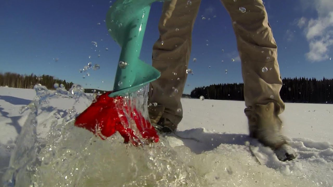 Gopro ice fishing in finland youtube for Fishing in finland