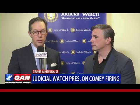 "OAN: JW President Tom Fitton on Comey Firing--""Comey saw himself as AG instead of FBI director."""