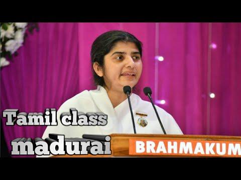 Bk.shivani sister tamil class at vsb, madurai 14/4/2018