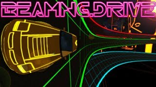 A Tron World With Vehicle Physics! -  BeamNG Update New Game Mode - BeamNG Drive Gameplay Highlights