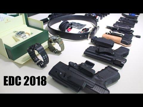 Everyday Carry Update 2018 - Gun, Knife, Flashlight   EDC Pocket Dump
