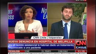 Juan Antonio Coloma se refirió al nuevo caso de negligencia en el hospital de Melipilla