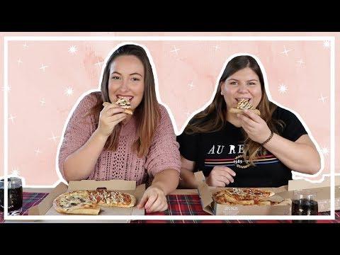 DOMINO'S PIZZA MUKBANG 🍕 MET DANIQUE | Irina Touw