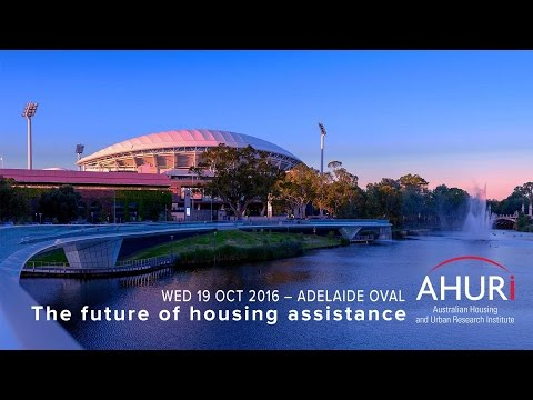 Professor Laurence Murphy - AHURI Conference The future of housing assistance Adelaide 2016