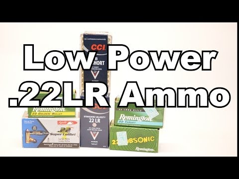 Shooting Low power .22 ammo in Semi-Auto Rifles