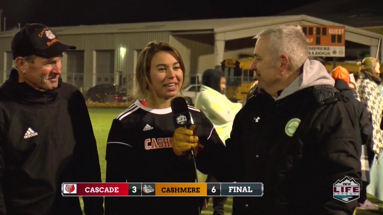 Cashmere vs Cascade Soccer Highlights 2019-10-29