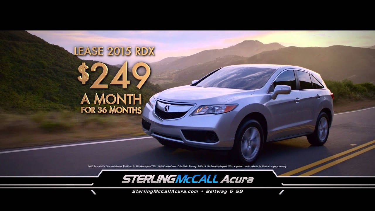 Sterling Mccall Acura >> Experience affordable luxury and unparalleled customer ...