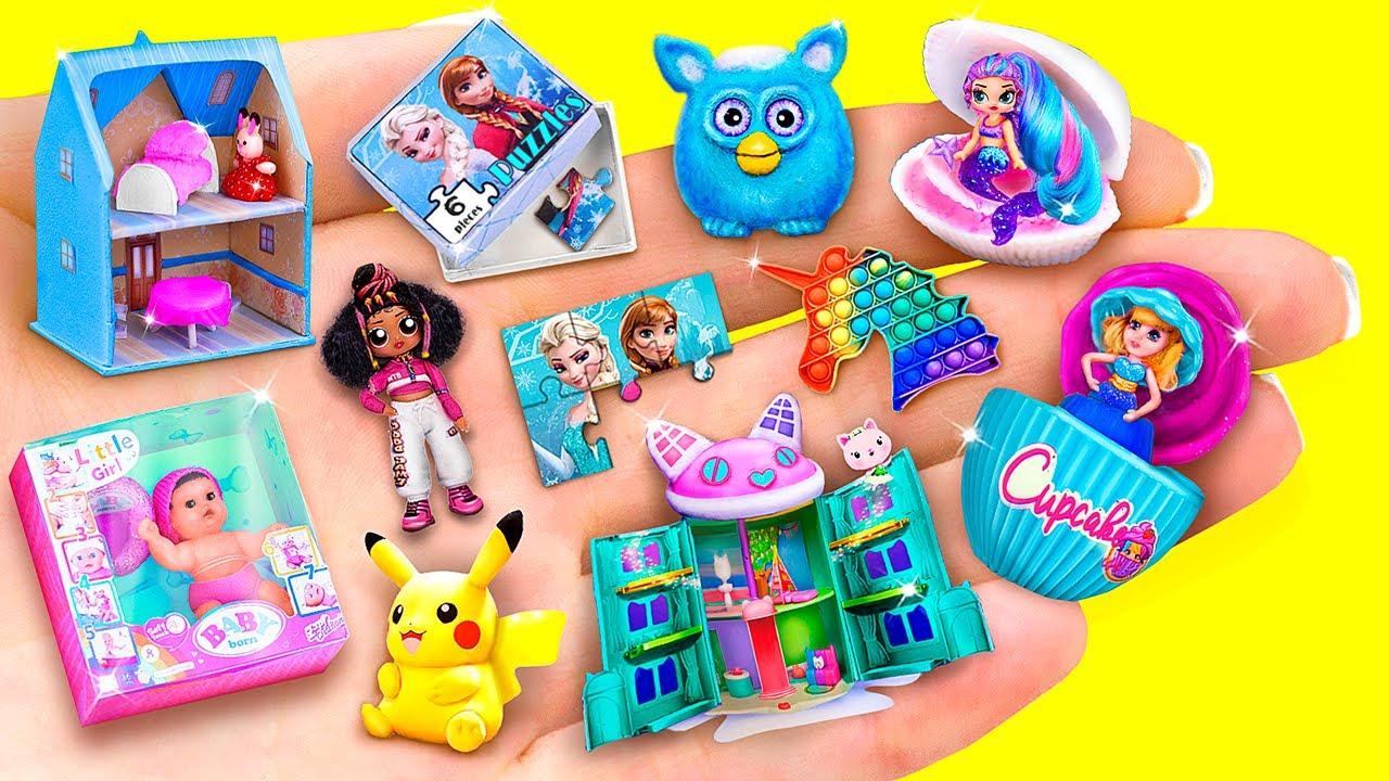 25 Muñecas y Juguetes en Miniatura para LOL Surprise