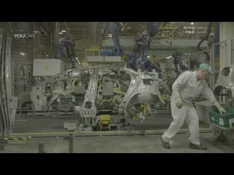 Honda CIVIC Production with Yaskawa Motoman robots