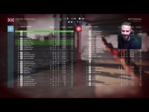 SoCal Live - Battlefield 5 -Ranked #1 in the World for Objective Score #BF5 #BFV (#104)