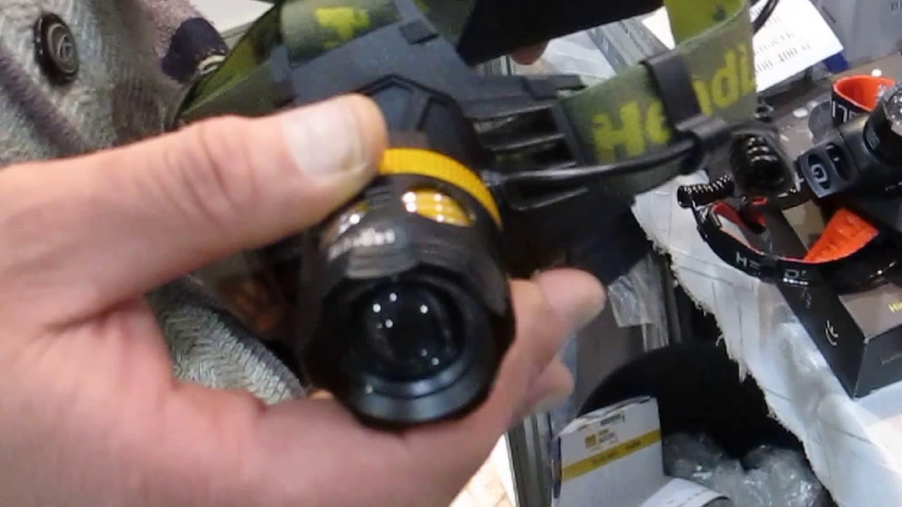 Сверх мощный налобный фонарь Boruit RJ-5001 - YouTube