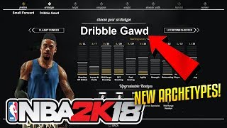 Nba 2K18 CONFIRMED SUB Archetypes! NEW Archetypes! RIP GREEN LIGHTS! More Difficult Shooting SYSTEM!
