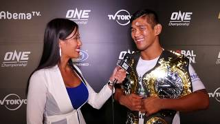 Aung La Nsang on beating Brandon Vera, defending middleweight title; POST-FIGHT INTERVIEW