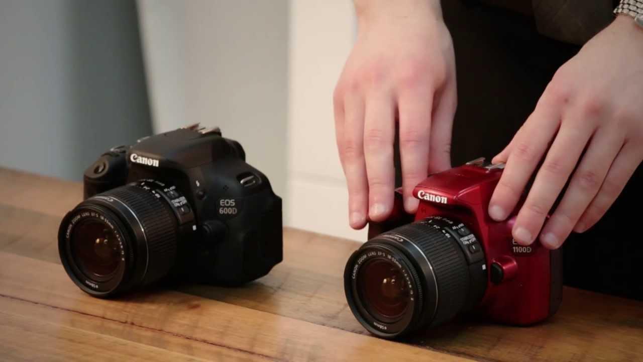 Canon eos 1100d vs canon eos 600d comparison youtube for Housse canon eos 600d