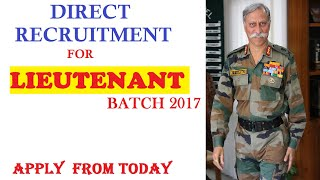 How to join indian army registration