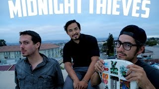 Midnight Thieves (interview) Salinas,California