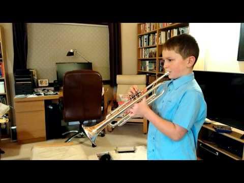 The Last Post on trumpet