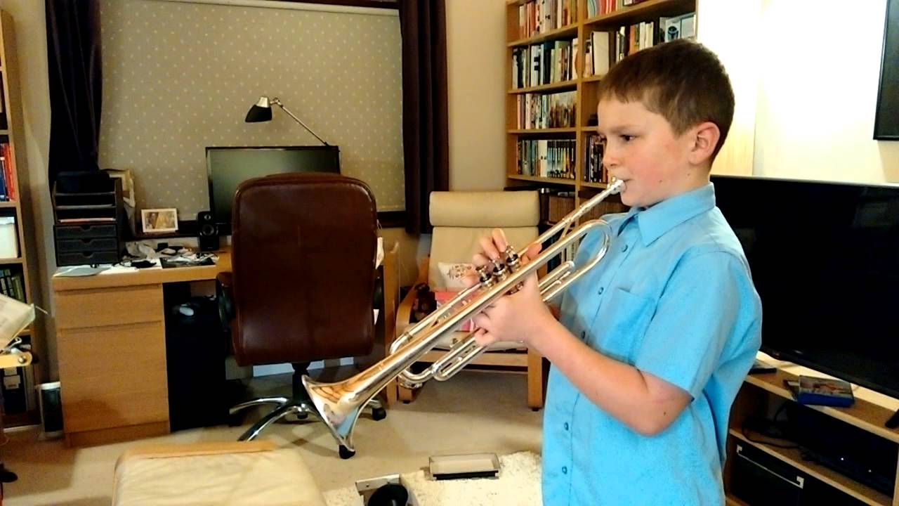 how to play the last post on trumpet