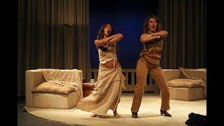 FEDRA LOPEZ y ROSALINDA SERFATY en PUERTA ABIERTA AL MAR  teatro)