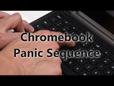 Clean your PC in 60 seconds with the Chromebook panic sequence.
