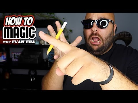 7 Magic Tricks with Pencils
