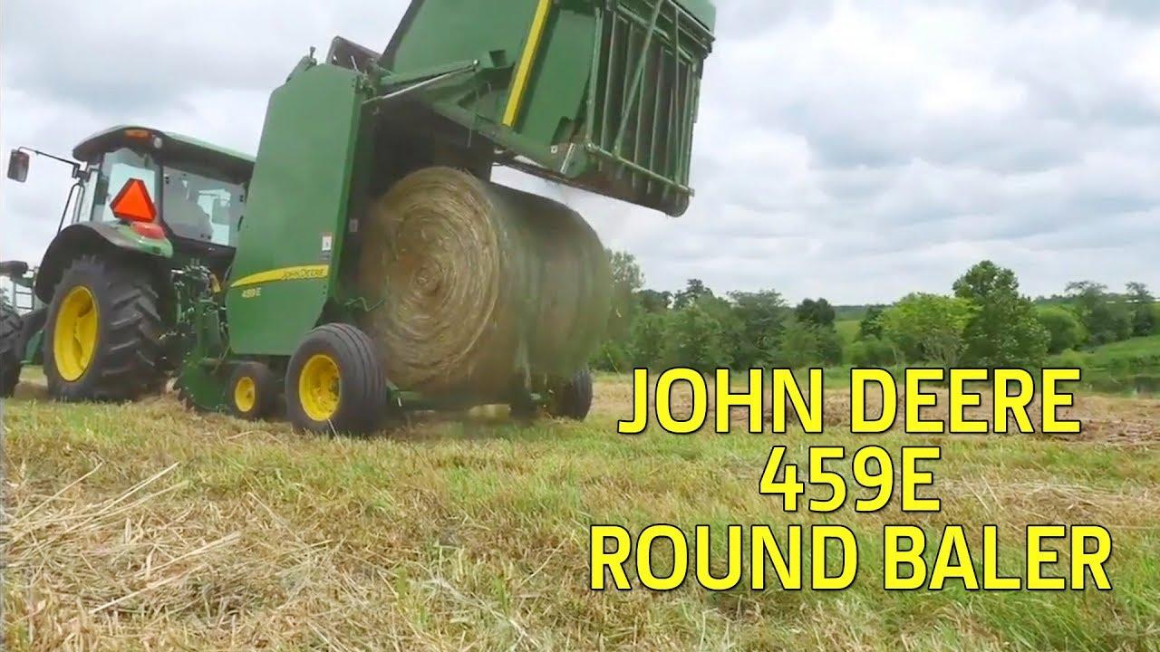 John Deere 459E Round Baler (Easy to Operate)