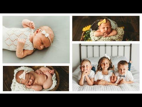 Cutest NEWBORN Photoshoot 📸