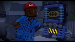 LEGO® Мир юрского периода марк и папа играют динозавры