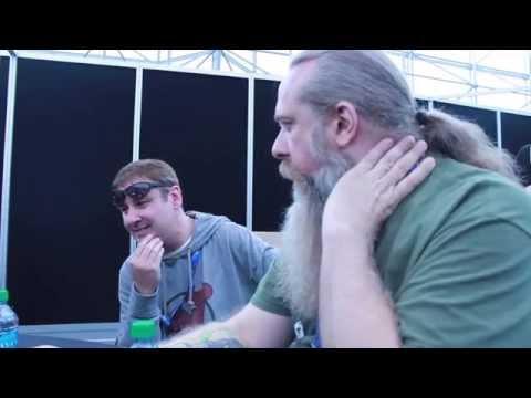 Comic Book Men stars Walter Flanagan and Bryan Johnson interviewed at NYCC 2014 streaming vf
