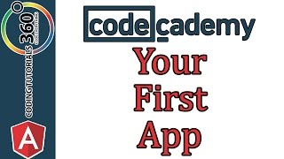 Your First App: AngularJS Codecademy