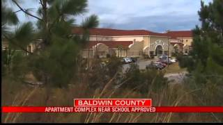 Apartment Complex Near School Approved
