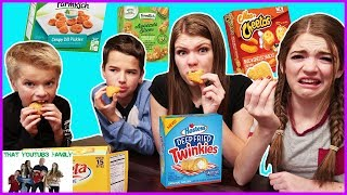 WEIRD Food Combinations People LOVE in the FREEZER Section!! *Mac n' Cheetos* / That YouTub3 Family