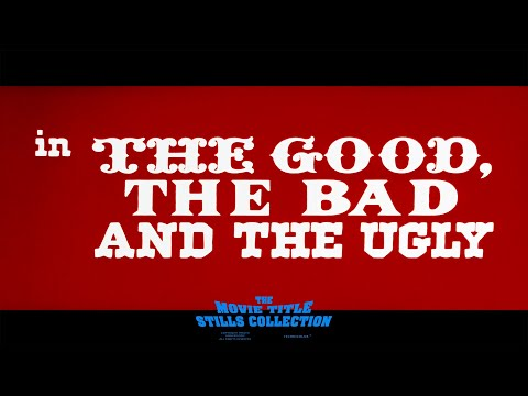 The Good the Bad and the Ugly (1966) title sequence